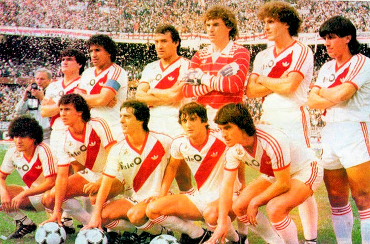 River Plate 1985-86