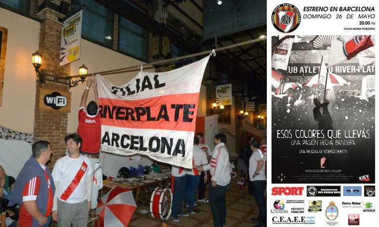 Fotos: Filial River Plate Barcelona.