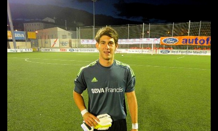 Augusto Batalla, figura en la definición por penales (Foto: Fernando Pato Söhn I Filial Madrid)