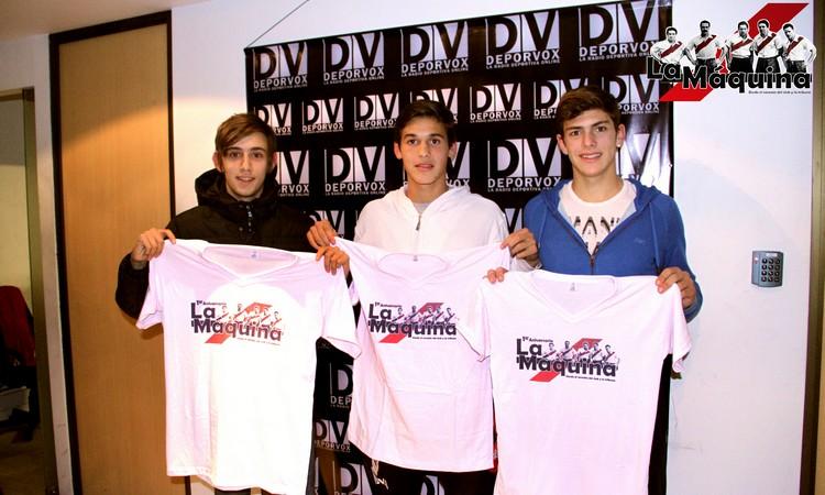 Ignacio Improvola, Lucas Martínez Quarta y Lucas Boyé presentes en los estudios de DeporVox