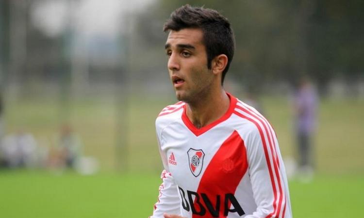 Fede Lavallén en acción (Foto: La Página Millonaria I RiverPlate.com)