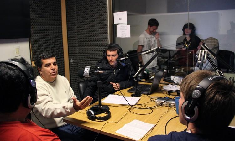 Rubén Bruno invitado especial de La Máquina (FOTO: Alejandra Colmenares)