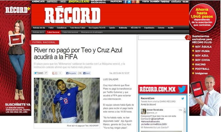 Cruz Azul FIFA