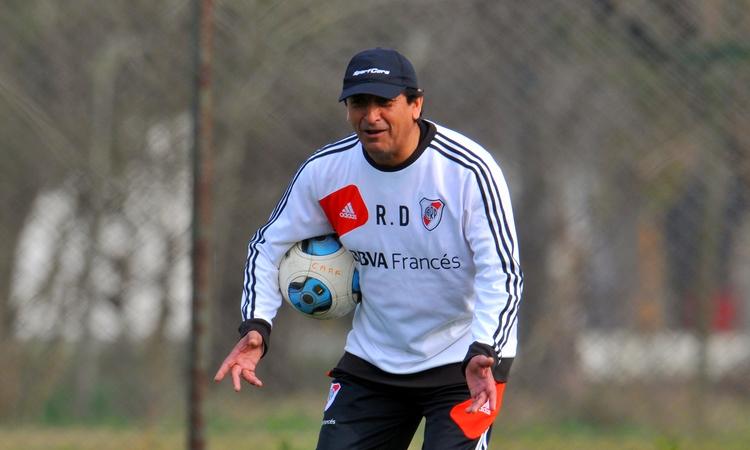 Ramón volvió a las prácticas luego de tres días de ausencia (FOTO: Diario Olé)